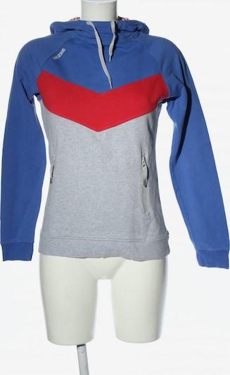 mazine Kapuzensweatshirt in XS in blau / hellgrau / rot, Produktansicht