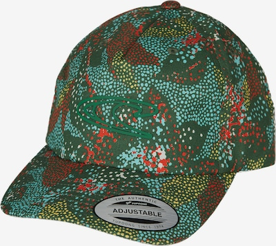 O'NEILL Cap 'Print Wave' in dunkelgrün / mischfarben, Produktansicht