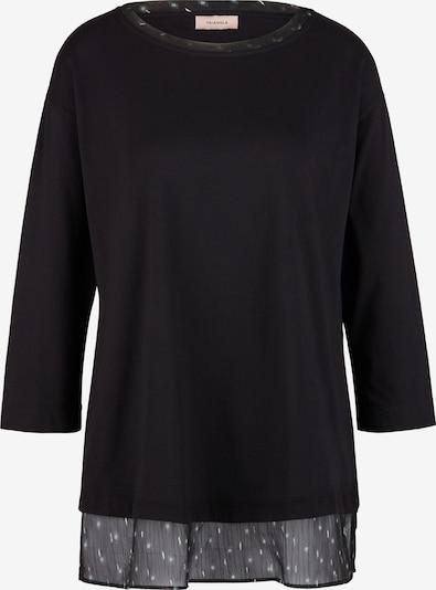 TRIANGLE Shirt in schwarz, Produktansicht