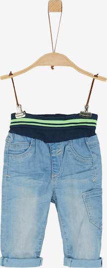 s.Oliver Jeans mit Umschlagbund in blau, Produktansicht