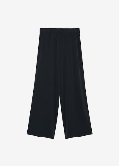 Pantaloni MANGO pe gri metalic, Vizualizare produs