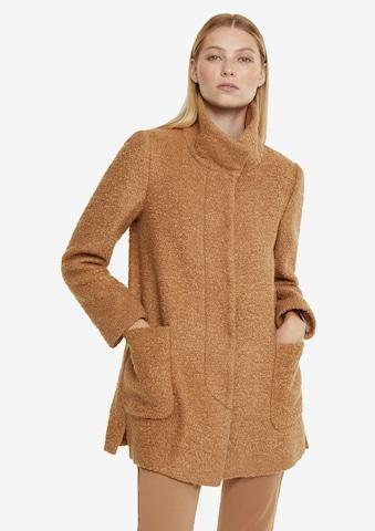 COMMA Between-Seasons Coat in Brown