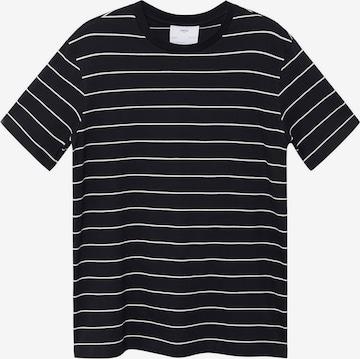 MANGO MAN T-Shirt in Schwarz