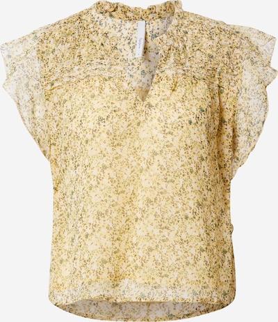 Pepe Jeans Bluse in kastanienbraun / senf / apfel / weiß, Produktansicht