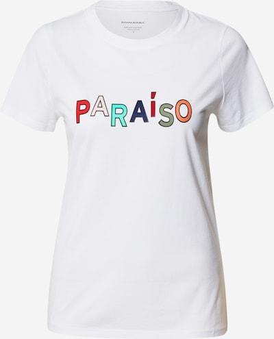 Banana Republic T-Shirt in mischfarben / weiß, Produktansicht
