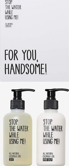 STOP THE WATER WHILE USING ME! Set 'Cucumber Lime Hand Kit' in transparent / weiß, Produktansicht