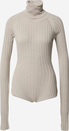 Body a maglietta NU-IN di colore beige, Visualizzazione prodotti