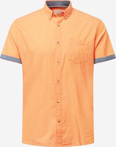 TOM TAILOR Košeľa - modrosivá / oranžová, Produkt