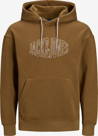 JACK & JONES Dressipluus 'World', värv pruun