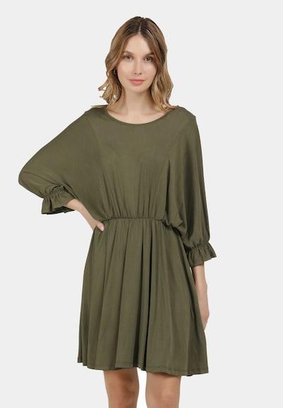 DreiMaster Vintage Kleid in khaki, Modelansicht