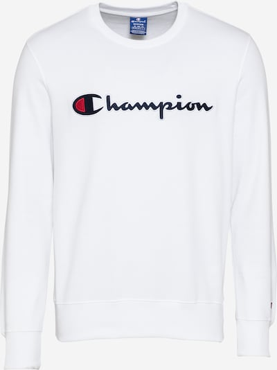 Champion Authentic Athletic Apparel Sweatshirt in navy / rot / schwarz / weiß, Produktansicht