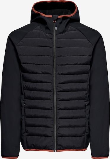 Only & Sons Jacke 'Andrew' in schwarz, Produktansicht