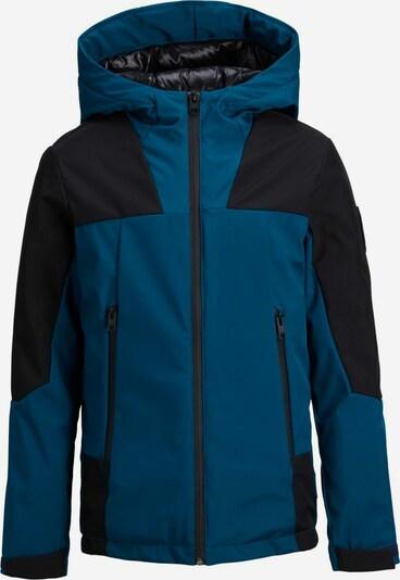 Jack & Jones Junior Winterjas in de kleur Donkerblauw / Zwart, Productweergave