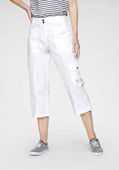 Navigazione Hose in weiß, Modelansicht