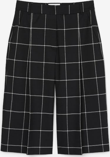 Marc O'Polo Pure Culotte ' mit Jacquard-Karomuster ' in schwarz, Produktansicht