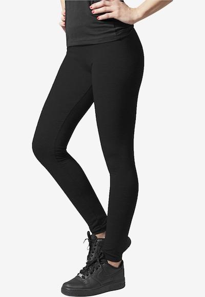 Urban Classics Leggings i svart, På modell