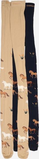 Collant 'Pferd' EWERS di colore navy / marrone chiaro / marrone scuro / bianco, Visualizzazione prodotti