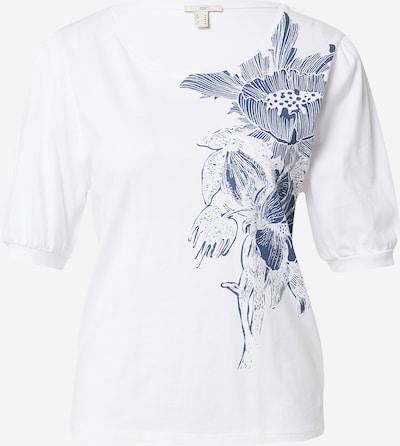 EDC BY ESPRIT Tričko - tmavomodrá / biela, Produkt