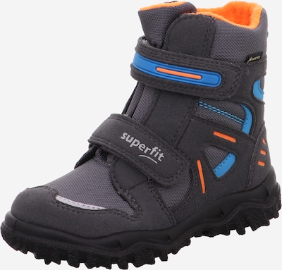 SUPERFIT Snowboots 'HUSKY' in blau / anthrazit / orange, Produktansicht