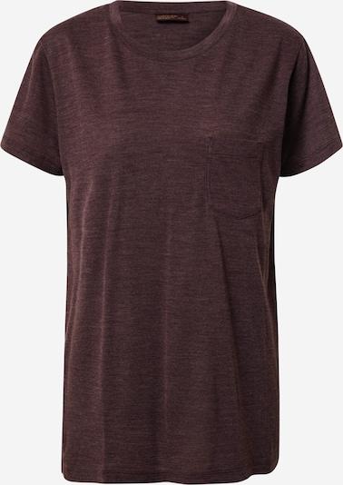 Icebreaker Functioneel shirt 'Drayden' in de kleur Donkerbruin, Productweergave