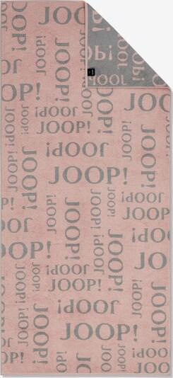 JOOP! Handdoek in de kleur Grijs / Oudroze, Productweergave