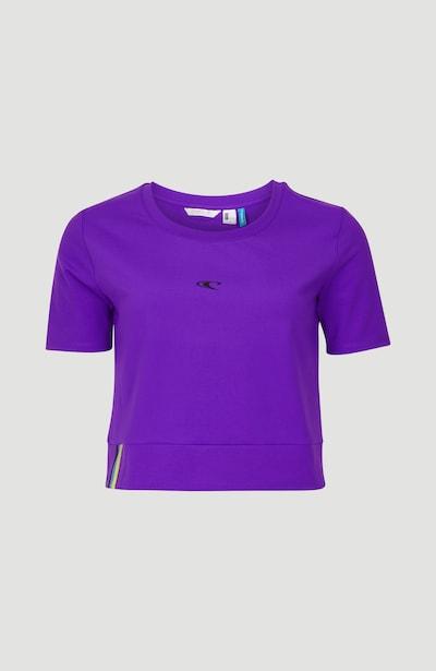 O'NEILL T-shirt fonctionnel 'Active Cropped' en violet / noir, Vue avec produit