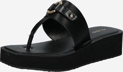 ALDO Сандали с разделител за пръстите 'MINYARA' в черно, Преглед на продукта
