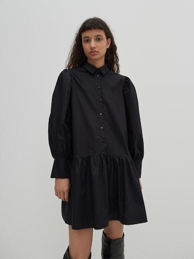 EDITED Kleid 'Rylee'  - (GOTS) in schwarz, Modelansicht