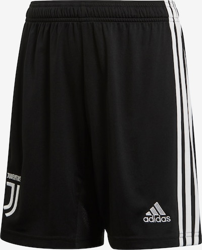 ADIDAS PERFORMANCE Shorts 'Juventus Turin' in schwarz / weiß, Produktansicht