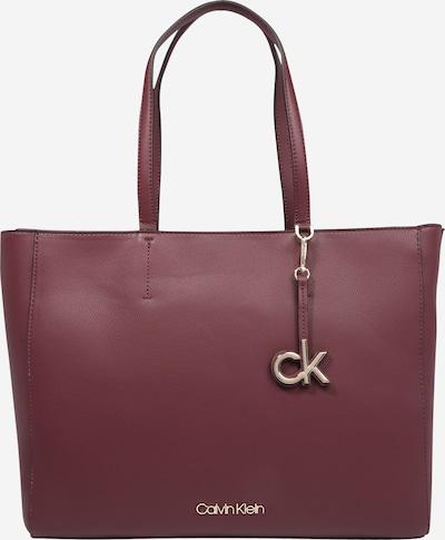 Calvin Klein Shopper in weinrot, Produktansicht