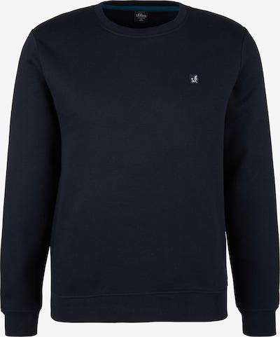 s.Oliver Sweatshirt in dunkelblau, Produktansicht