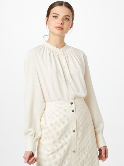 BOSS Casual Bluse 'Barila' in offwhite, Modelansicht