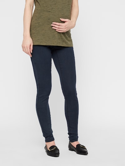 MAMALICIOUS Umstandsjeggings in navy, Modelansicht