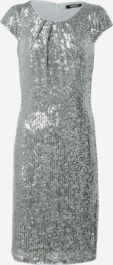 SWING Cocktail dress in Silver: Frontal view