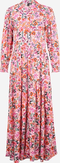 Rochie tip bluză 'ALIRA' Y.A.S Tall pe verde / portocaliu / roz / alb, Vizualizare produs
