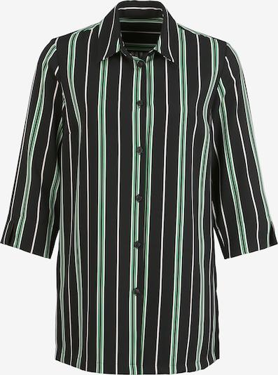 Vogelsang Bluse in grün / schwarz, Produktansicht