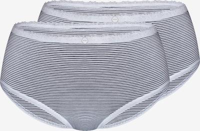 sassa Panty 'STRIPE RANGE' in schwarz / naturweiß, Produktansicht