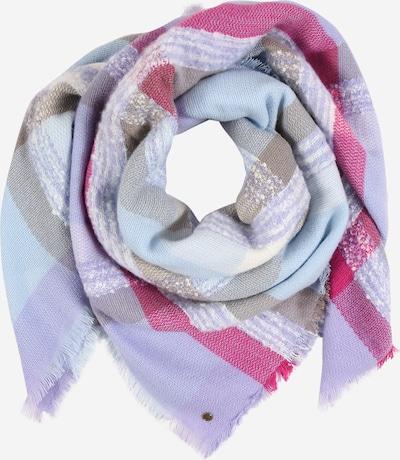 ESPRIT Šála - pastelová modrá / šedá / světle fialová / eosin / bílá, Produkt