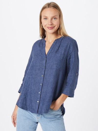 Bluză s.Oliver pe albastru amestec, Vizualizare model