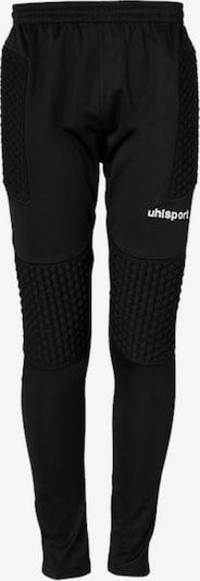UHLSPORT Hose in schwarz / weiß, Produktansicht