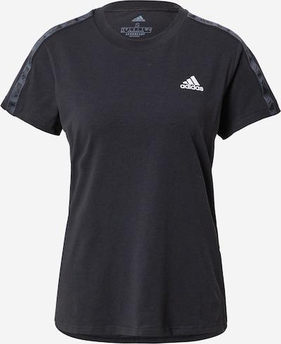 ADIDAS PERFORMANCE Functioneel shirt in de kleur Donkergrijs / Zwart / Wit, Productweergave