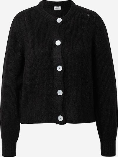 Pimkie Gebreid vest 'TRAVIS' in de kleur Zwart, Productweergave