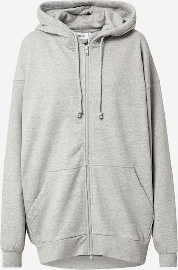 WEEKDAY Zip-Up Hoodie in Grey, Item view