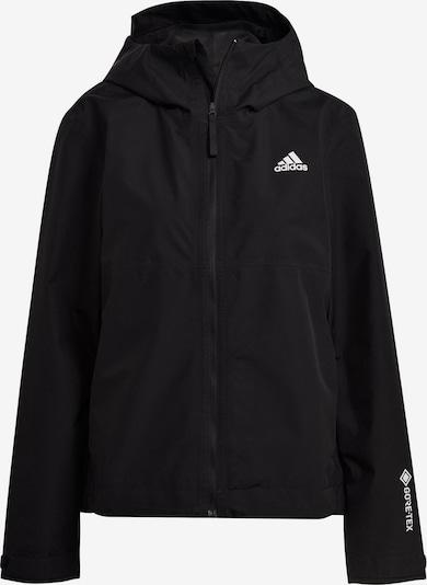 ADIDAS PERFORMANCE Regenjacke in schwarz / weiß, Produktansicht