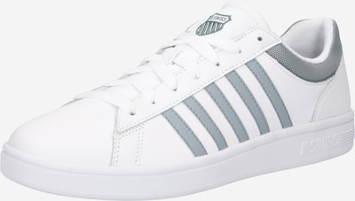 K-SWISS Sneaker 'Court Winston M' in silbergrau / weiß, Produktansicht