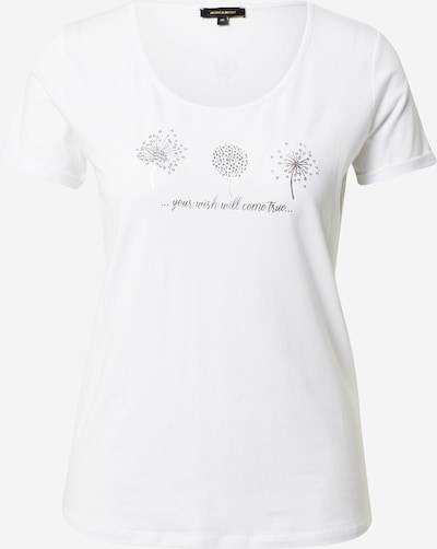 MORE & MORE Shirt in Silver / White, Item view