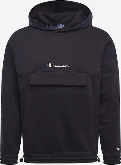 Champion Authentic Athletic Apparel Sweatshirt in de kleur Zwart / Wit, Productweergave
