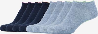 SKECHERS Sneakersocken Los Angeles im 8er-Pack in blau, Produktansicht