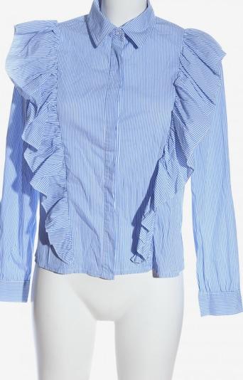 NEW COLLECTION Hemd-Bluse in M in blau / weiß, Produktansicht