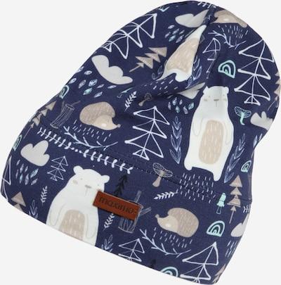 MAXIMO Bonnet en bleu marine / mélange de couleurs, Vue avec produit